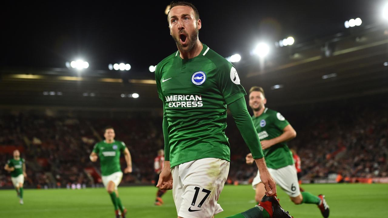 Glenn Murray was on the scoresheet once again.