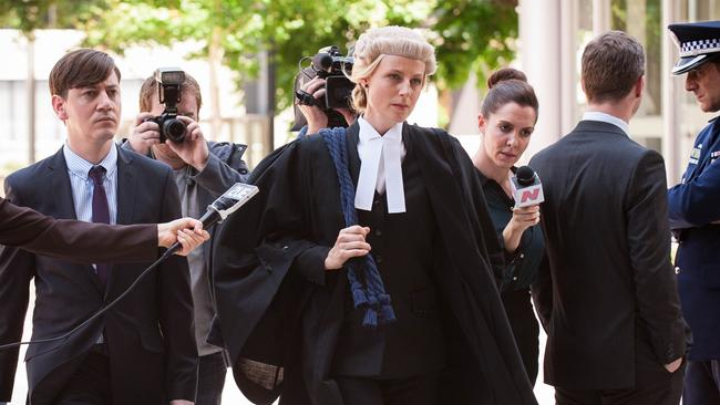 Leading the field ... Marta Dusseldorp as Janet King. Picture: ABC
