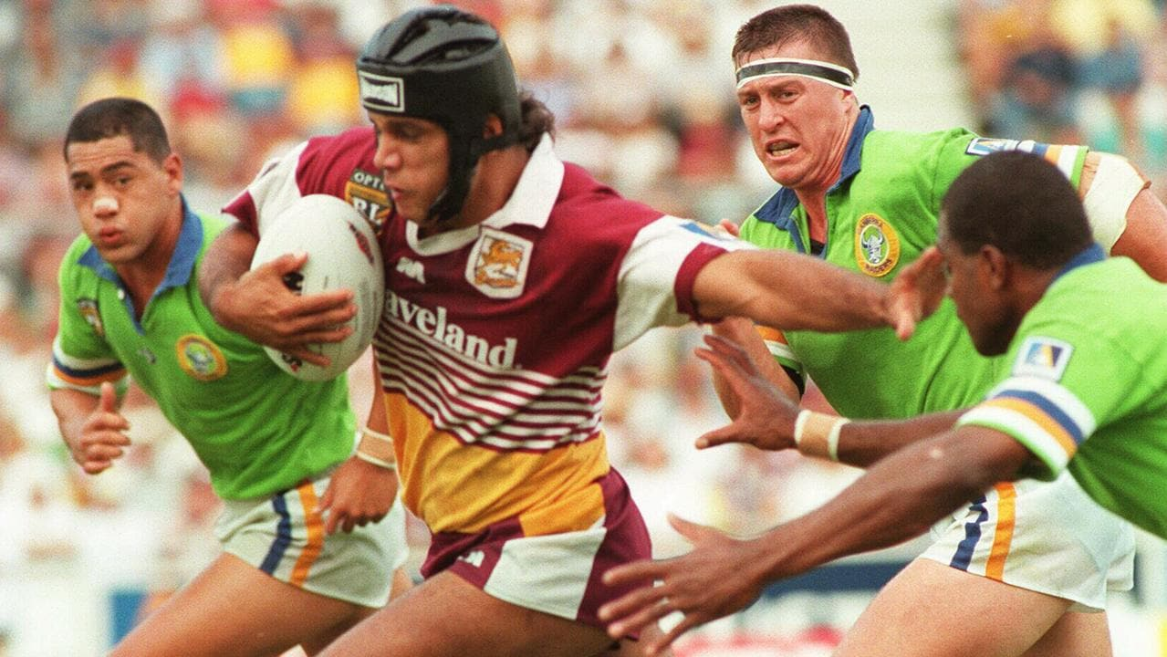 Steve Renouf thought his career may be over at 22 when he was first diagnosed. Rugby League A/CT 1996