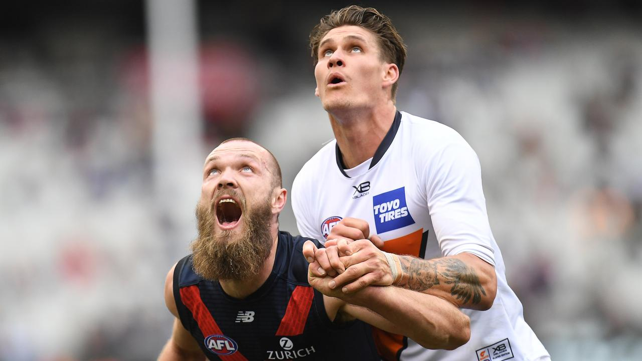 Max Gawn was named the ruckman of the All-Australian team. Photo: Julian Smith/AAP Image.