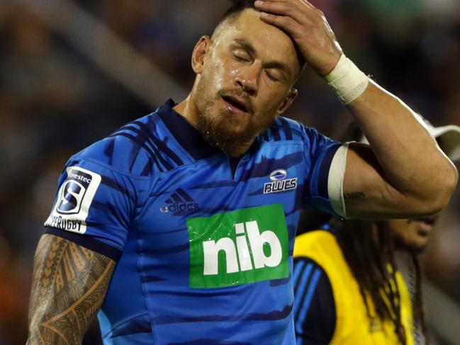 Sonny Bill is on indefinite leave from Super Rugby.