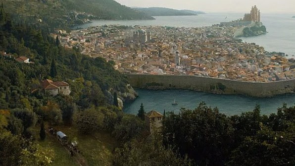 King's Landing has always been surrounded by water