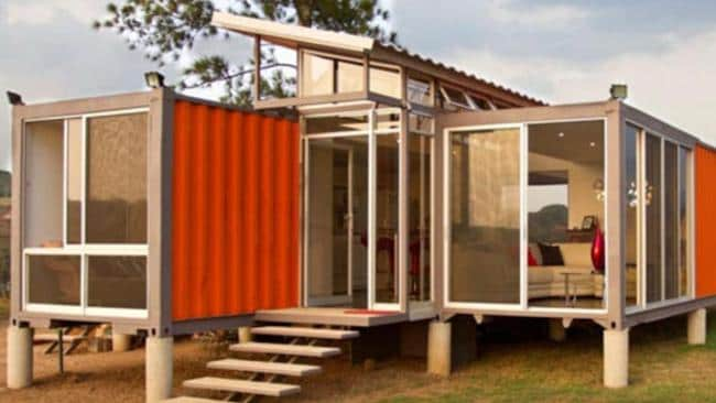One of the different container homes available. Picture: Container Homes.