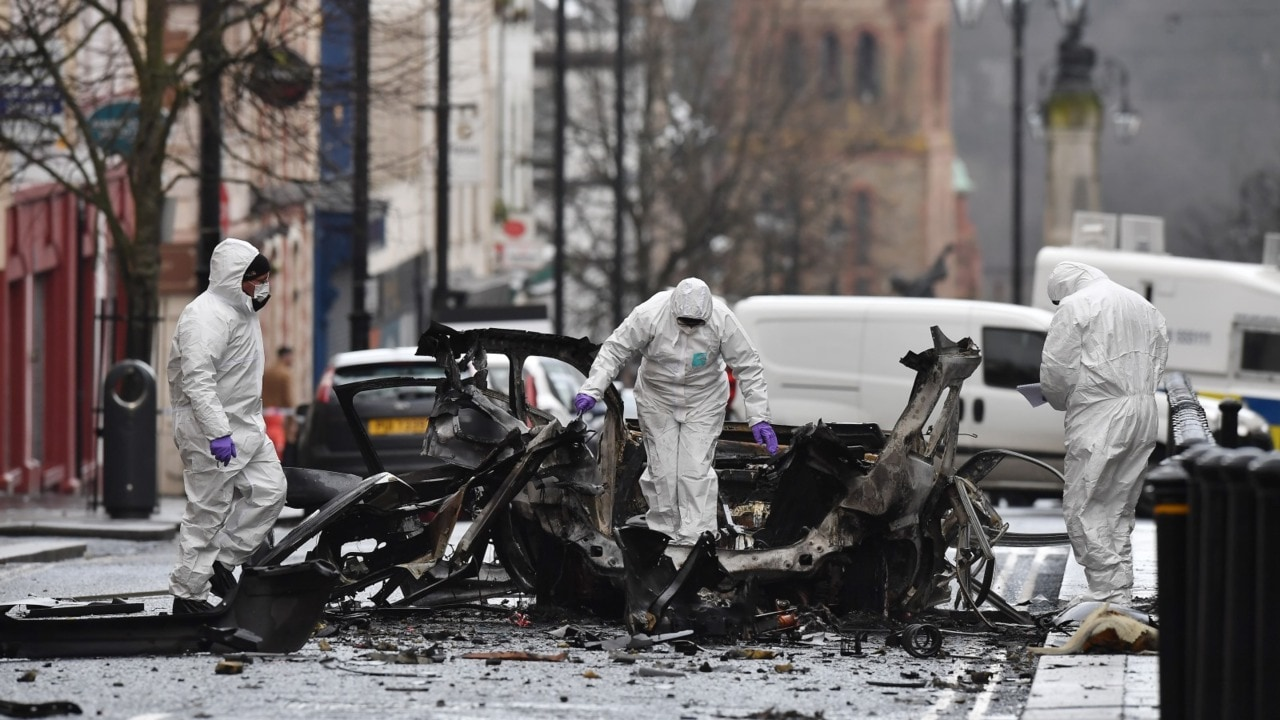 Two men arrested in connection to Northern Ireland car bomb attack