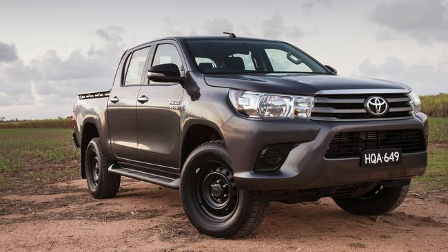 Hidden costs: A Toyota HiluX dual-cab ute loses more than $100 in value every week.