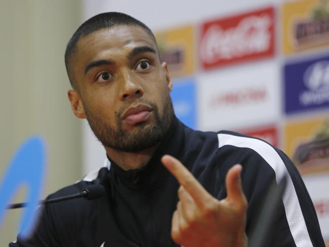 New Zealand's team captain Winston Reid