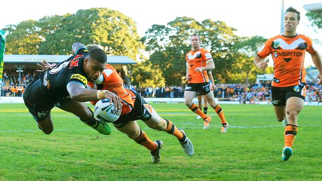 Kevin Naiqama is swapping Penrith Panthers for Wests Tigers.
