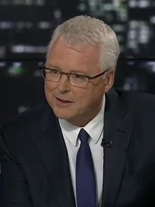 Lateline host Tony Jones wouldn't let go of issues last night.