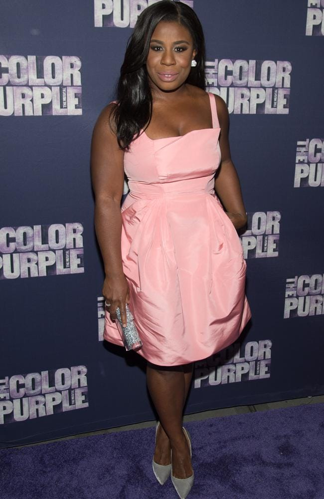 Nominated for a Golden Globe ... Uzo Aduba attends the The Color Purple Broadway Opening Night at The Bernard B. Jacobs Theatre in New York City on December 10. Picture; Mark Sagliocco / Getty Images
