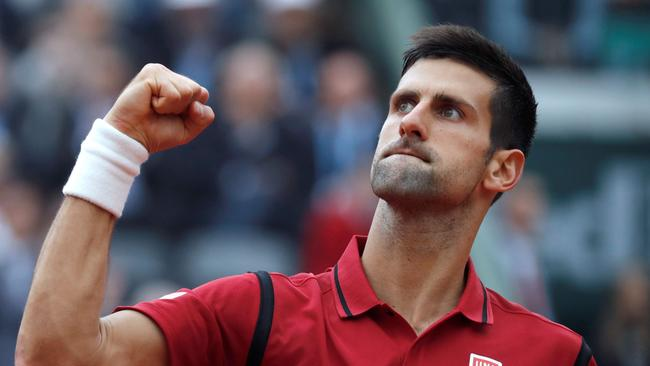 Novak Djokovic beat Andy Murray to win his first French Open title.