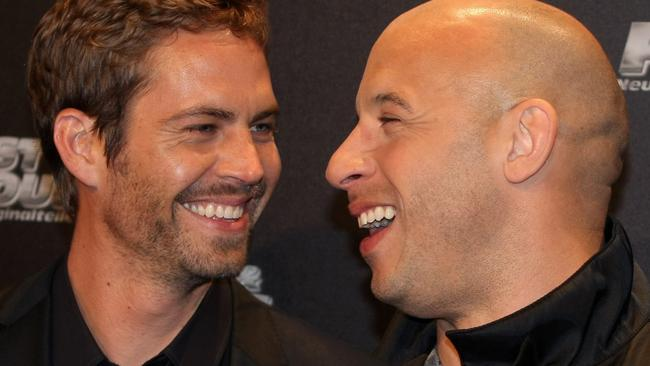 Paul Walker and Vin Diesel in 2009.