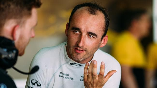 Robert Kubica was quick in his recent F1 test, say Renault.