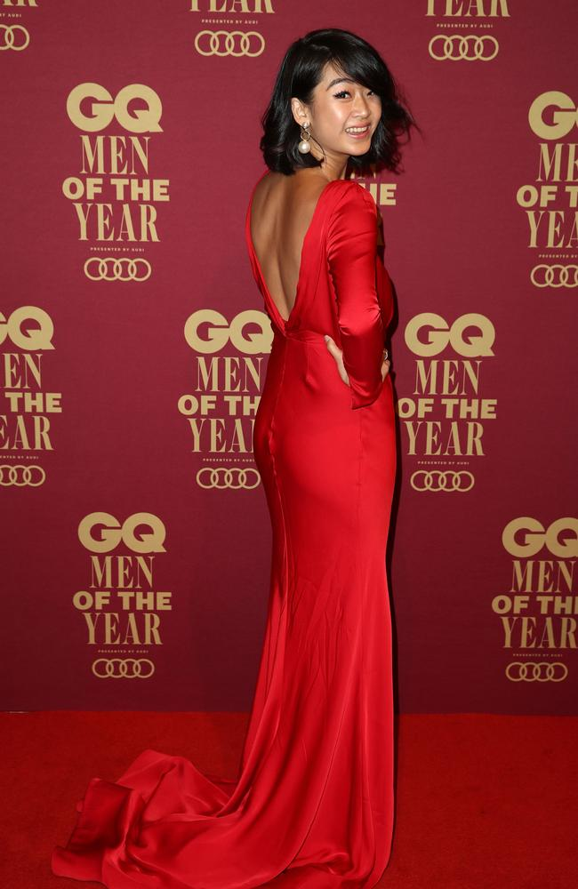 Li-Chi Pan on the red carpet. Picture: Brendon Thorne/Getty Images for GQ Australia.