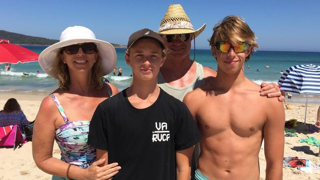 The community has shared messages of love and support with Brody Hurst's family. Pictured: Supplied