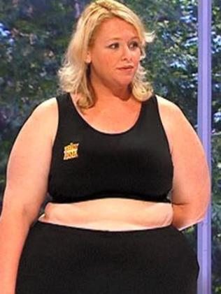 Alison Braun on The Biggest Loser in 2008.
