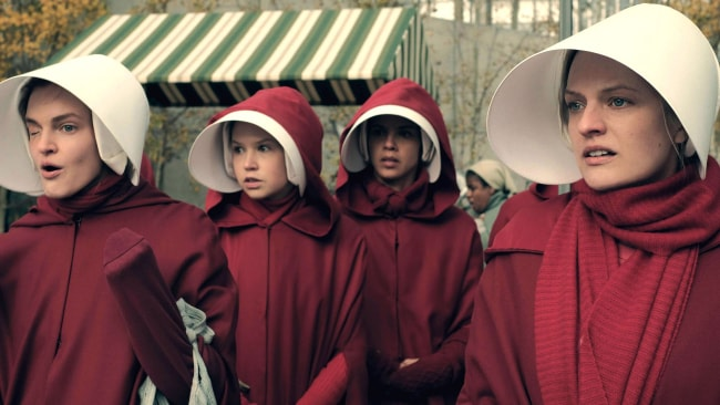 The series tackles relevant issues in our current political climate. Photo: The Handmaid's Tale