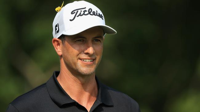 Adam Scott finished third in the recent US PGA Championship. Picture: Getty.