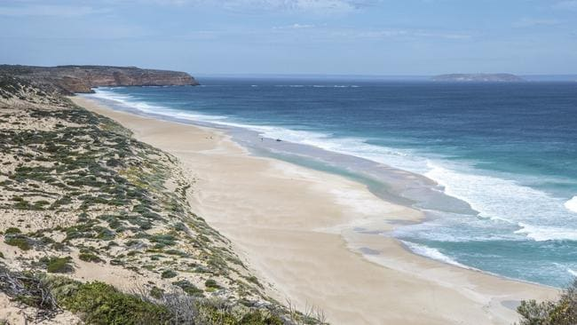 West Cape Headland in Innes National Park, would form part of a new open-range sanctuary under the Great Southern Ark project, planned for the Yorke Peninsula. Picture: Tourism Australia