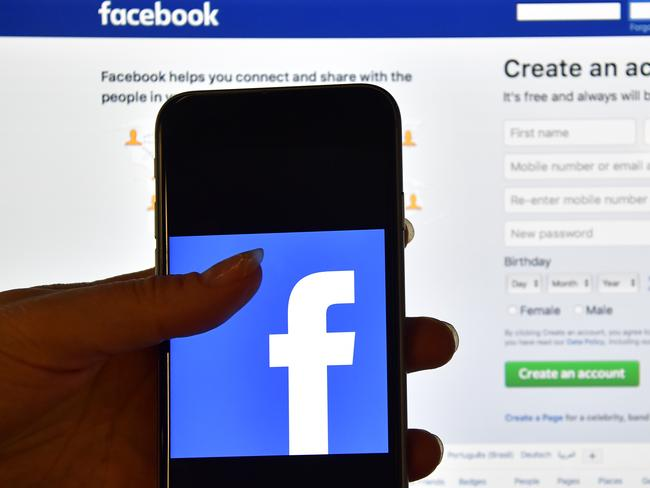 Facebook said it has since fixed the issue. Picture: Carl Court/Getty Images