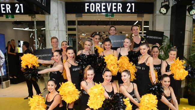 7016bb1e2972 The razzmatazz that surrounded Forever 21 s opening in Pitt Street