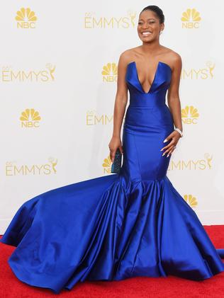 Keke Palmer attends the 66th Annual Primetime Emmy Awards.