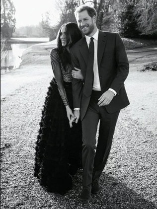 The Sussexes also chose Alexi to take their official engagement pictures at Frogmore House in December 2017. Credit: Reuters