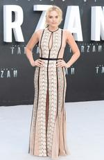 """Margot Robbie attends the European premiere of """"The Legend Of Tarzan"""" on July 5, 2016 in London, England. Picture: Getty"""