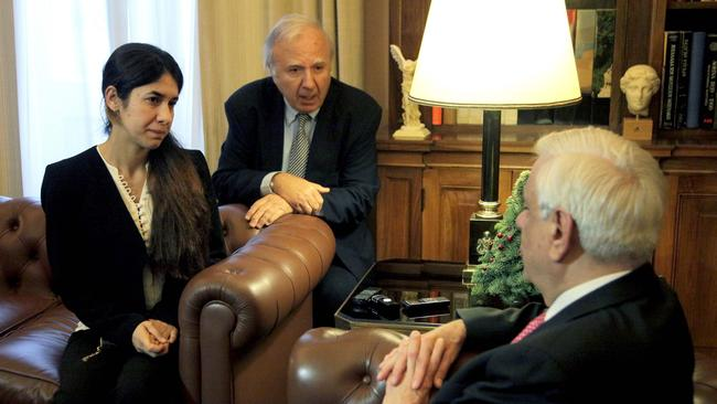 """""""At this moment there are 3,400 people in detention who are Syrian or Iraqi,"""" Murad told Greek President Prokopis Pavlopoulos during a visit to Athens."""