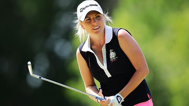 Karrie Webb Lips Out While Sarah Kemp Finds Her Edge