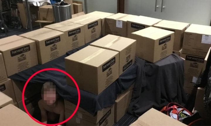 Boy, 9, flying alone spent the night in a Melbourne airport storage room