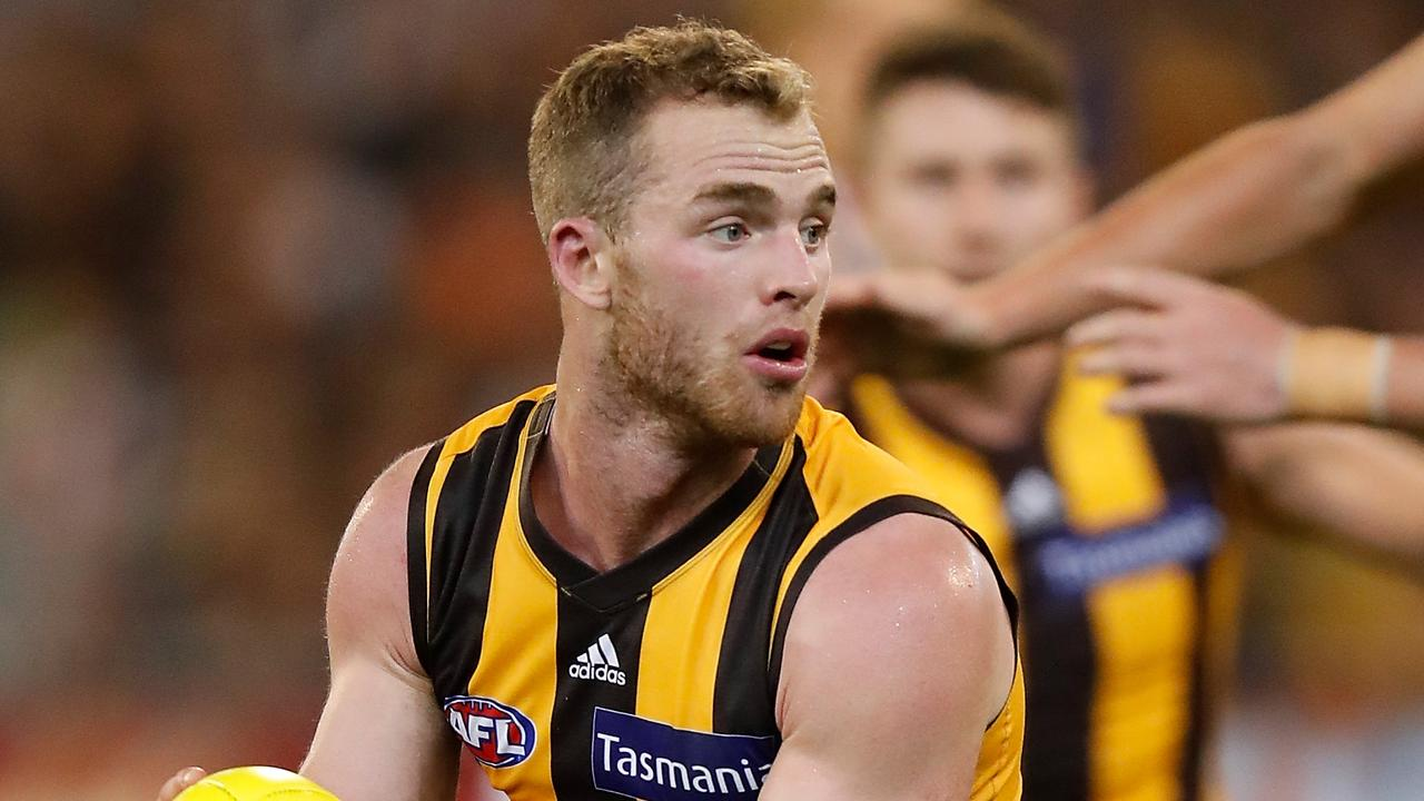 Tom Mitchell has penned a contract extension. Photo: Michael Willson/AFL Media/Getty Images