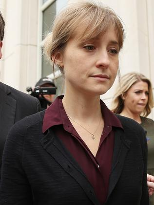 Allison Mack is set to go to trial on April 29. Picture: Getty Images/AFP