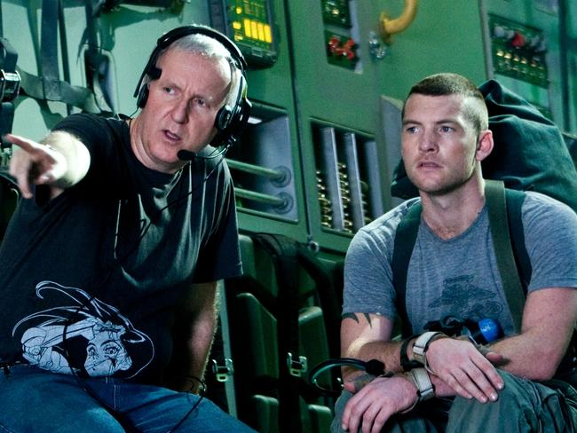James Cameron and Aussie Sam Worthington start filming Avatar 2 next month.