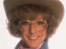 Dustin Hoffman in drag for the movie Tootsie. Picture: Supplied