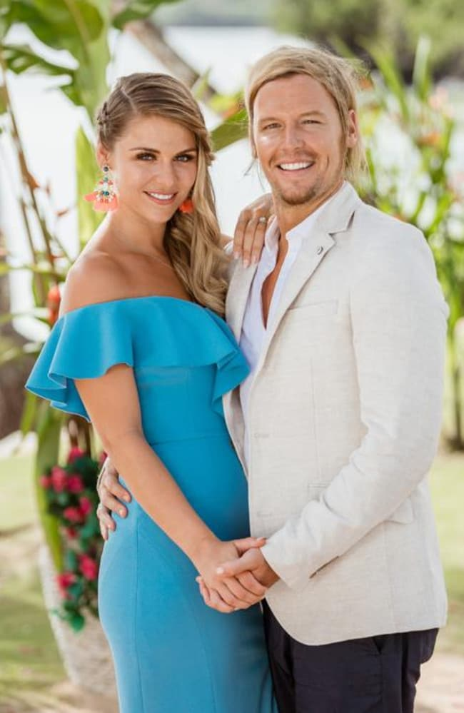 Tara Pavlovic and Sam Cochrane became engaged after meeting on Bachelor in Paradise. Picture: Channel 10