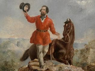 History. A portrait of Edward Hargraves 1851
