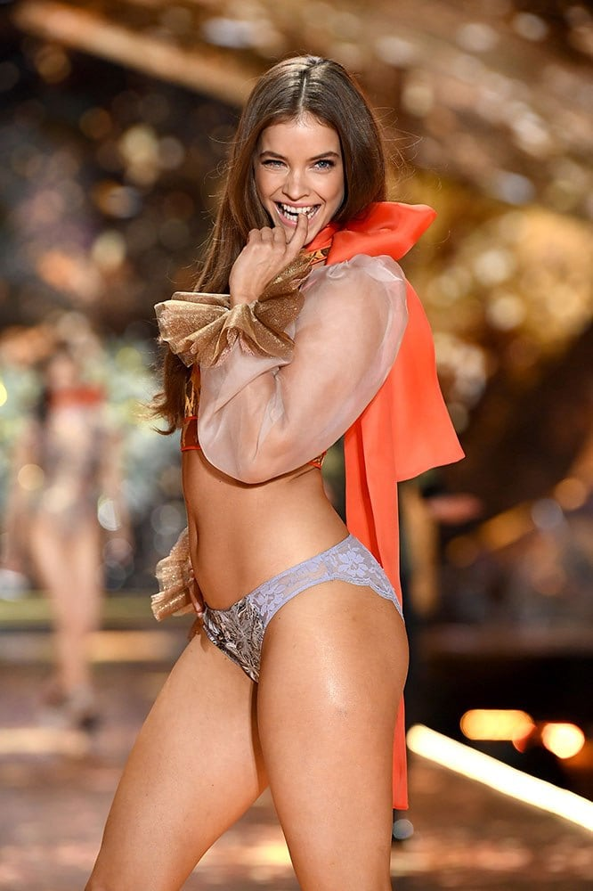 Barbara Palvin just got her Victoria's Secret Angel wings