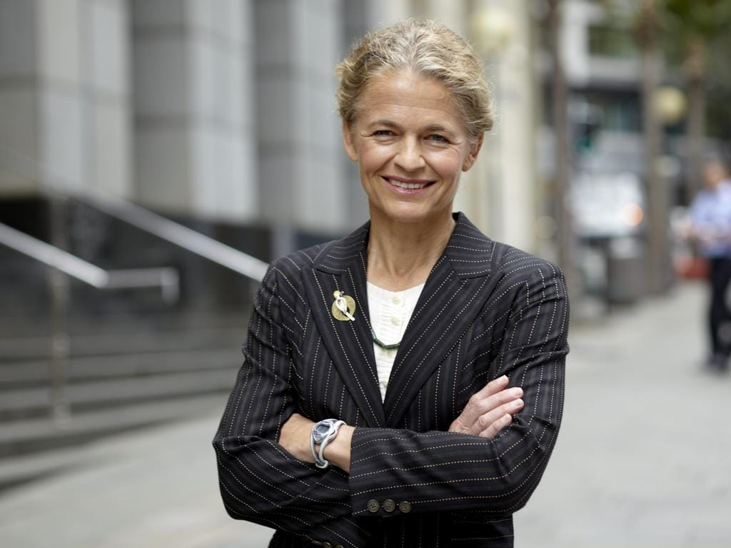 Giselle Roux, chief investment officer at JBWere, pictured near her office.