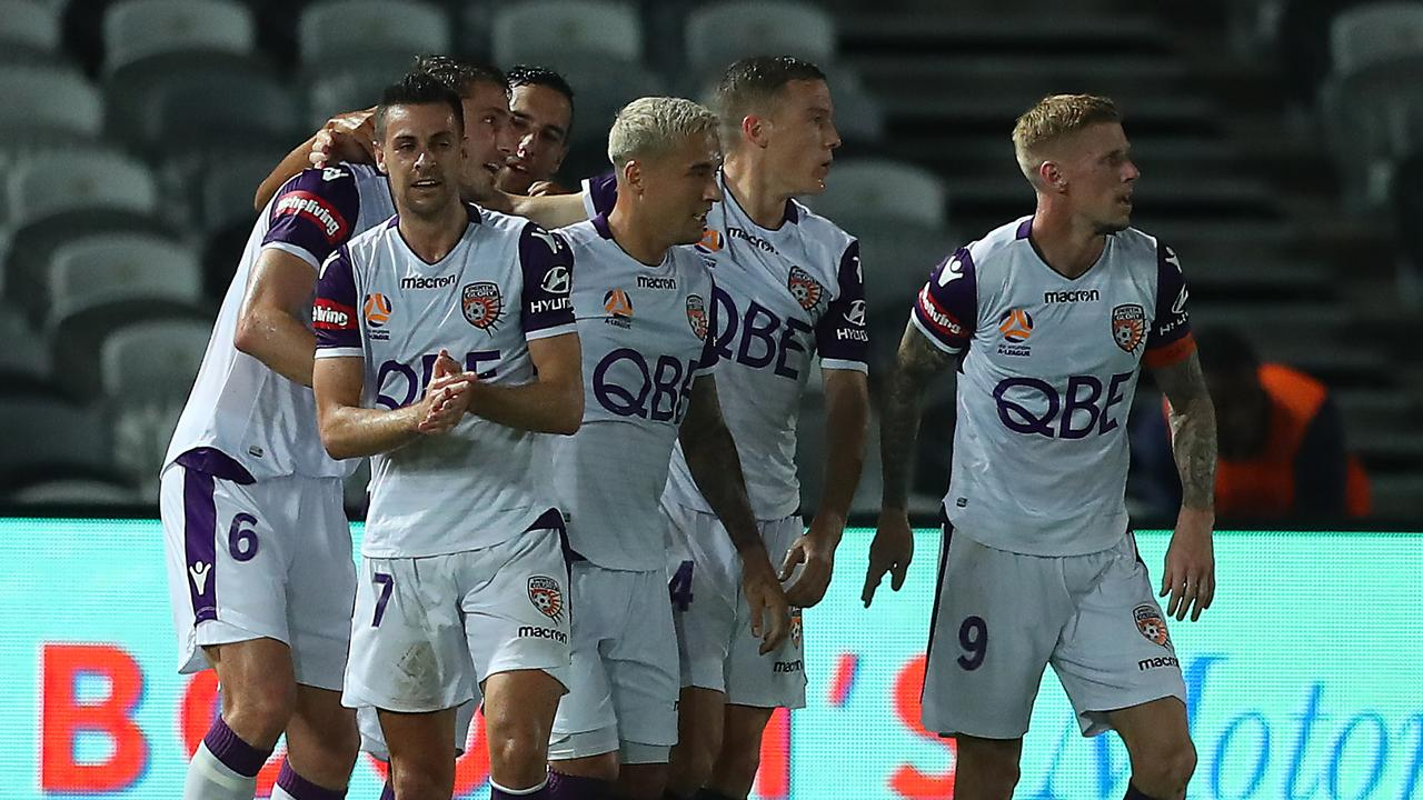 Perth Glory barely left first gear.