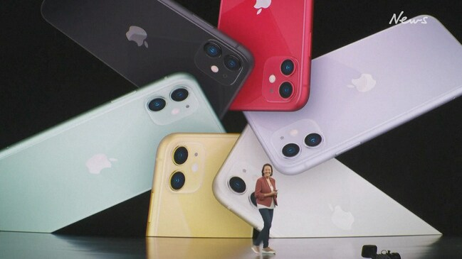 Apple iPhone launch: New smartphone models unveiled