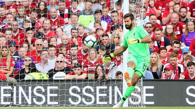 Liverpool have made a statement with the signing of Brazilian goalkeeper Alisson for a world-record fee.
