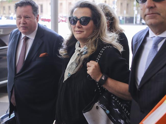 Kathy Jackson appeared relaxed throughout her court hearing. AAP Image/Wayne Taylor