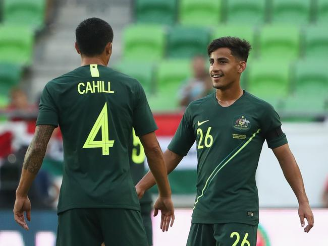 Daniel Arzani made quite the impression in his last outing with the Socceroos.