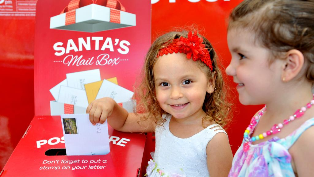 Australia post urging children across the far north to send post time amelia lammon posts a letter to santa posting letters to santa has spiritdancerdesigns Image collections
