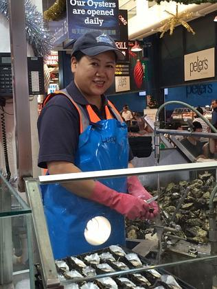 Shucks! This woman has shucked 4 million oysters