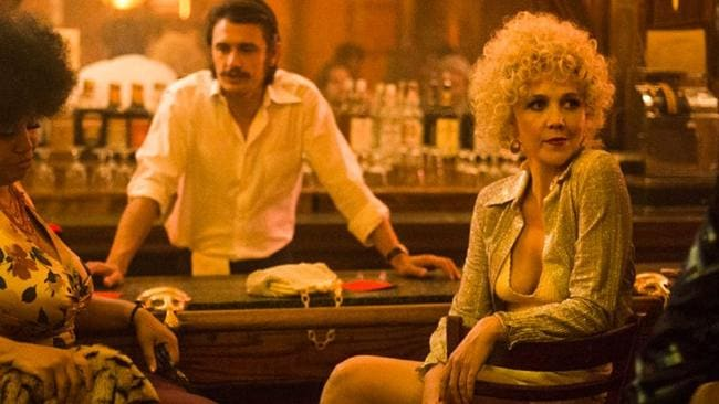 James Franco pulls double duty as twins on The Deuce.