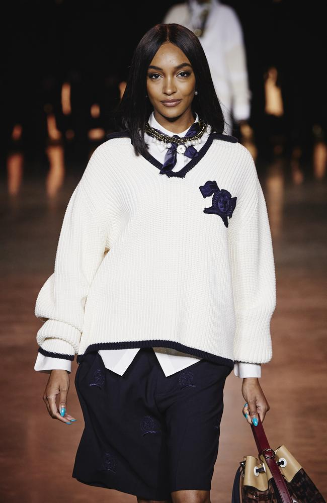 Preppy chic. Picture: Getty Images for Tommy Hilfiger