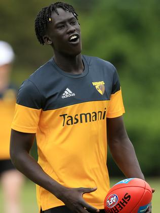 Changkuoth Jiath has been impressing in the VFL. Picture: Mark Stewart