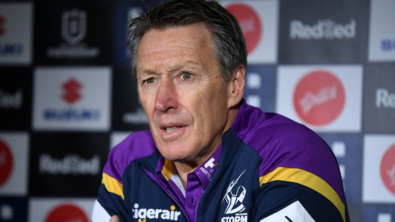 Storm coach Craig Bellamy will have his troops firing by the time the finals roll around