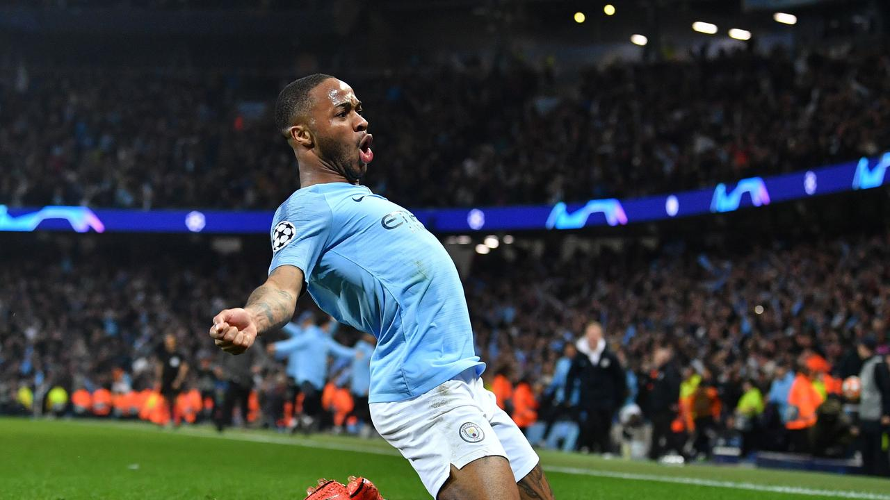 Manchester City's Raheem Sterling has been vocal about racism in football